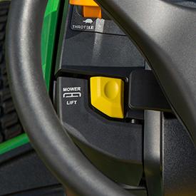 Hydraulic lift lever (X580, X584, X590)