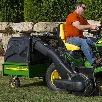 MC519 Cart with Power Flow™ blower and chute