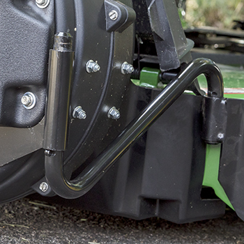 Blower mounting arm