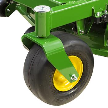 Large caster wheel