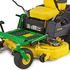 48-in. (122-cm) high-capacity mower deck shown on a Z540R