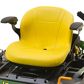 Comfortable seat (Z355E shown)