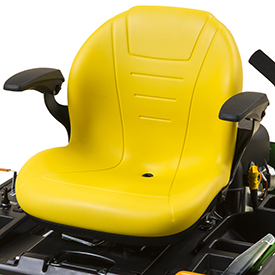 Comfortable seat (Z345R shown)