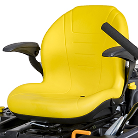 Comfortable seat (Z345M shown)