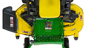 62-in. (157-cm) Edge Mower Deck (top view)