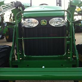 Hood guard for 4105 Tractors