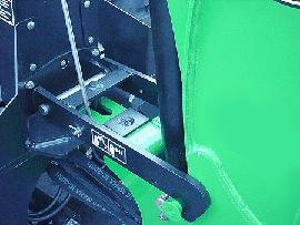 Quik-Tatch subframe mounting system
