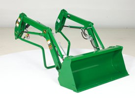 Quik-Park™ loader mounting system