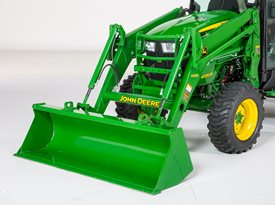 Hood guard for 4R Series Tractors