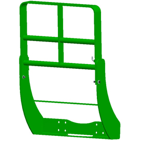 Hood guard for 8R and 8030 Series Tractors