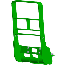 Hood guard for large-frame 7030 Tractors