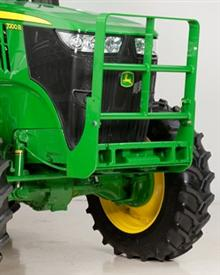 Hood guard on 7R Tractor
