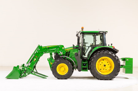 6120M Tractor with 600R Loader