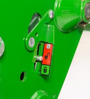 Visual lock/unlock indicator