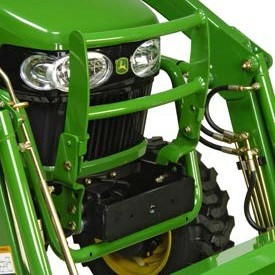 Hood guard shown on 2025 Tractor