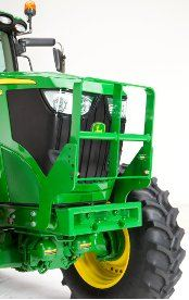 Hood guard on 6R Tractor
