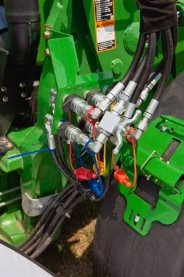 Three function quick coupler