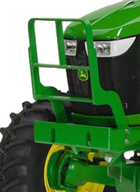 Hood guard for 6D Series Tractors