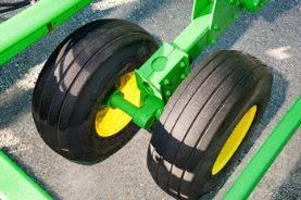 Walk-Over tandem wheels