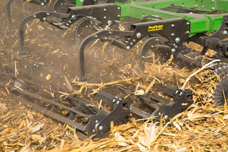 Incorporate soil and residue during fall tillage
