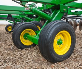 Tandem wheels