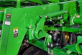 Hydraulic adjustment cylinder