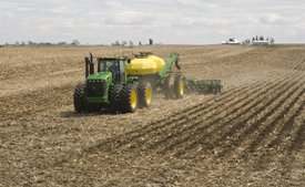 12-row Residue Master in corn stubble
