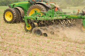 Sidedress application