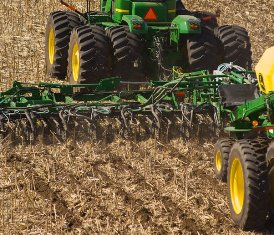 Strips behind 16-row Residue Master