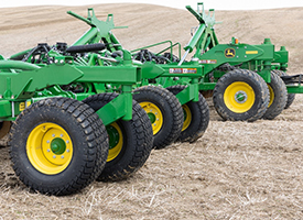 Tires on the N560F Disk Drill
