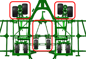 High-flotation package for P576