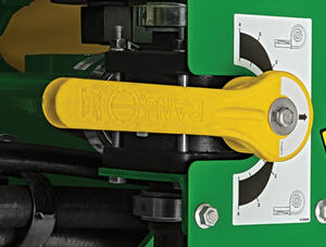 Pressure valve handle
