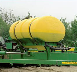 600-gallon liquid fertilizer tank