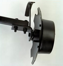 Outer marker arm and disk