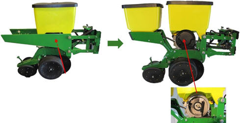 Planting Equipment 1735 Integral Planter John Deere Us
