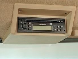 Radio with CD player