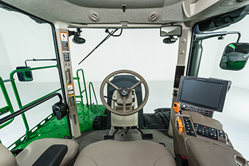 CommandView III cab panoramic view