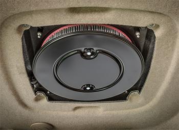 Recirculation air filter