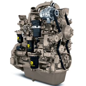 PowerTech™ PSS 9.0-L (549-cu in.) John Deere diesel engine