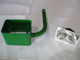 Auxiliary loader light kit
