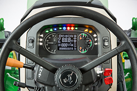 Instrument cluster lights