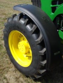 Front fenders installed on a 5M Tractor
