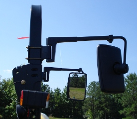 Telescopic mirror mounted on 5M Open Station