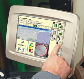john deere precision ag technologies are highly integrated with john  greenstar 2600 touch screen display