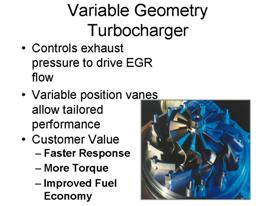variable geometry turbocharger A turbocharger comprises a center housing, and a shaft positioned therein having a first end and a second end a turbine housing is attached to one side of the center housing and has a turbine wheel disposed therein that is coupled to the first end of the shaft a first variable geometry member.