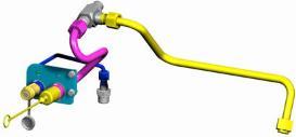 Hydraulic motor return