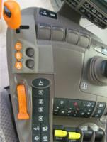 Close up of controls on the CommandARM