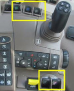 E- SCV controls on CommandARM™ controls