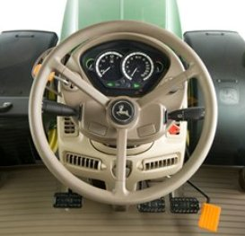 Steering column on 6R Tractor