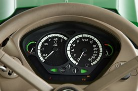 Dash instrument panel on 6R Tractor